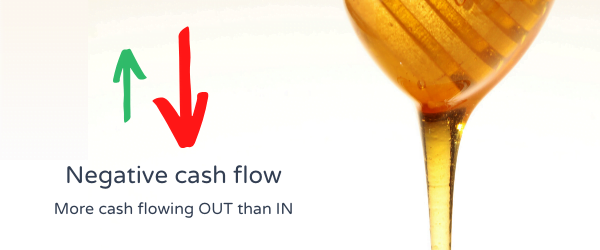 Negative cash flow