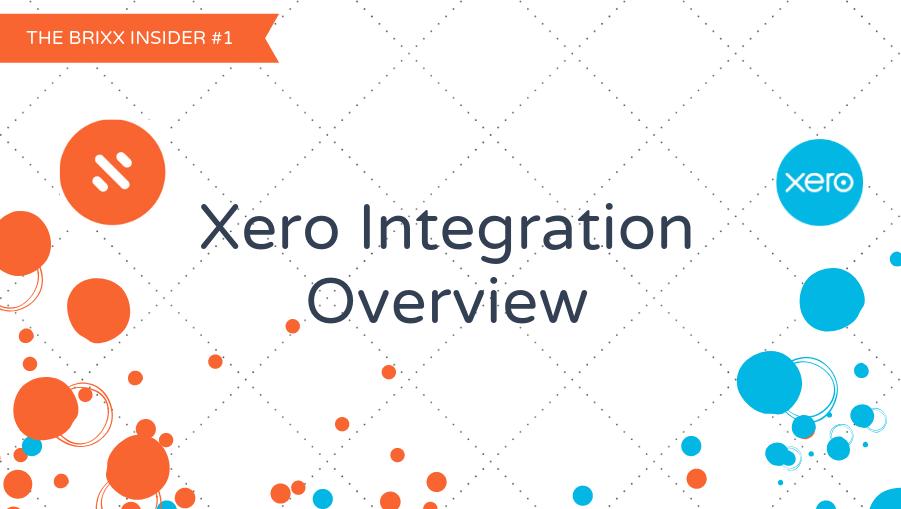 Brixx Insider #1 Xero integration header image