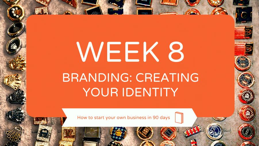 week 8 brand identity
