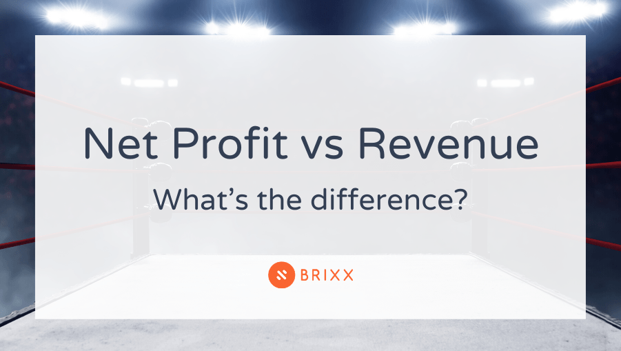 Profit vs Revenue - whats the difference?