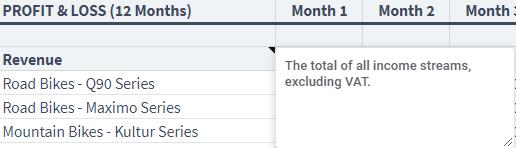 revenue annotation