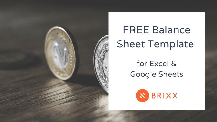 balance sheet template - money balancing on table blog post header imag4e for Brixx Software